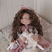 """Куклы и игрушки ручной работы. Ярмарка Мастеров - ручная работа тексильная кукла """" Энни"""". Handmade."""