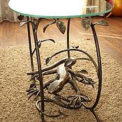 Столы ручной работы. Ярмарка Мастеров - ручная работа Столик с Ящерицей. Handmade.