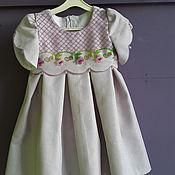 Работы для детей, ручной работы. Ярмарка Мастеров - ручная работа Нарядное платье. Handmade.