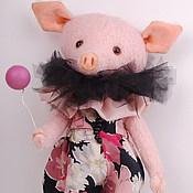 """Куклы и игрушки ручной работы. Ярмарка Мастеров - ручная работа Свинка тедди """"Свинтус"""". Handmade."""