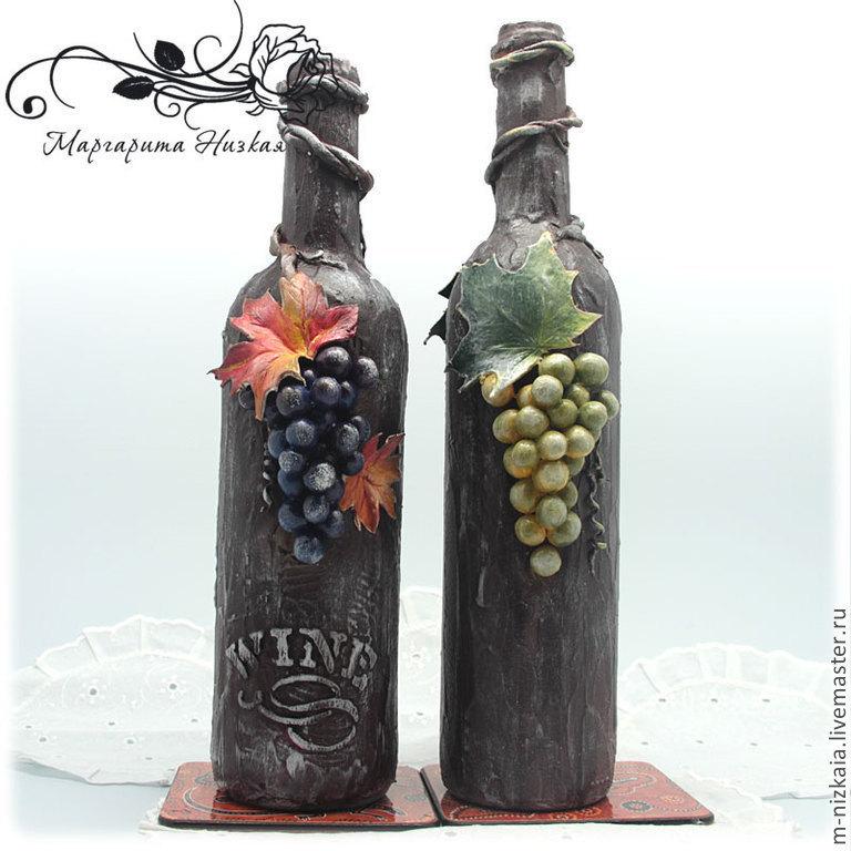 Бутылка вина своими руками