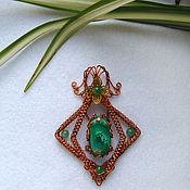 Украшения handmade. Livemaster - original item Pendant: Mistress of Copper mountain. Handmade.