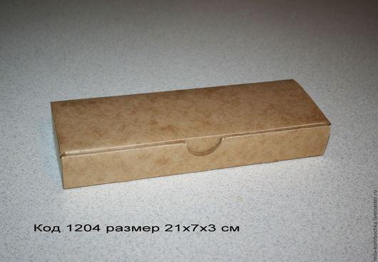 Код 1204 (премиум крафт картон) размер 21х7х3 цена 34 руб. Возможны дополнительные способы отделки.