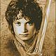 Фродо- синие глаза.