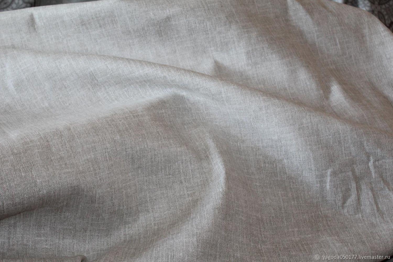 Fabric 100% cotton matting 'Len', Fabric, Kaluga,  Фото №1