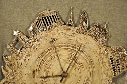 Часы настенные  ` Города мира ` Кисель Вероника