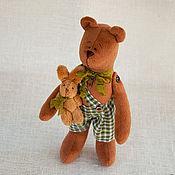 Куклы и игрушки ручной работы. Ярмарка Мастеров - ручная работа В наличии Мишки Кузя и Буся. Handmade.