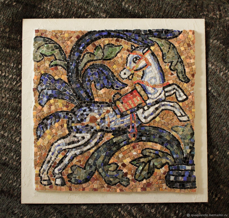 Мозаика Лошадь