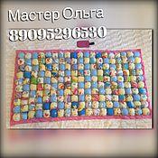 Работы для детей, ручной работы. Ярмарка Мастеров - ручная работа Ортопедический коврик для малышей от 3х месяцев. Handmade.