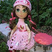 Кукла текстильная Иринка балеринка