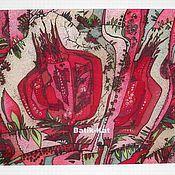 Картины и панно ручной работы. Ярмарка Мастеров - ручная работа Punica granatum. Handmade.