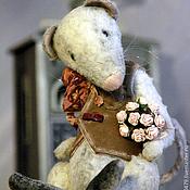 Куклы и игрушки ручной работы. Ярмарка Мастеров - ручная работа Тедди крыс Фауст. Handmade.
