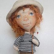 Куклы и игрушки ручной работы. Ярмарка Мастеров - ручная работа Рыжие на рыбалке. Handmade.