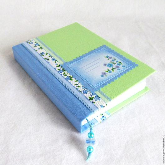 """Блокноты ручной работы. Ярмарка Мастеров - ручная работа. Купить Блокнот для записей """"Весенний"""". Handmade. Блокнот для записей, весенний, картон"""