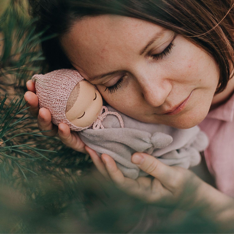 Куколка Апалúпалка для сна, Вальдорфские куклы и звери, Тюмень,  Фото №1