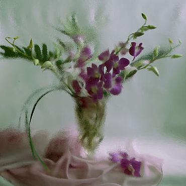 Картины и панно ручной работы. Ярмарка Мастеров - ручная работа Букет орхидей Натюрморт фото, картина. Handmade.