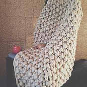 Для дома и интерьера ручной работы. Ярмарка Мастеров - ручная работа Маленький плед из 100% шерсти мериноса.. Handmade.