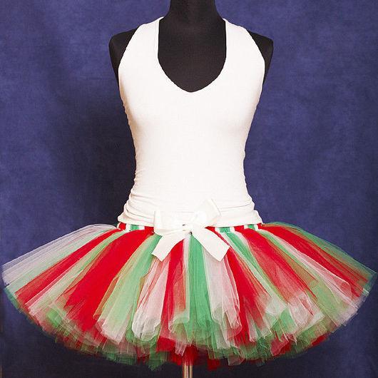 """Юбки ручной работы. Ярмарка Мастеров - ручная работа. Купить """"Итальянская вечеринка"""" взрослая пышная юбка-пачка из фатина. Handmade."""