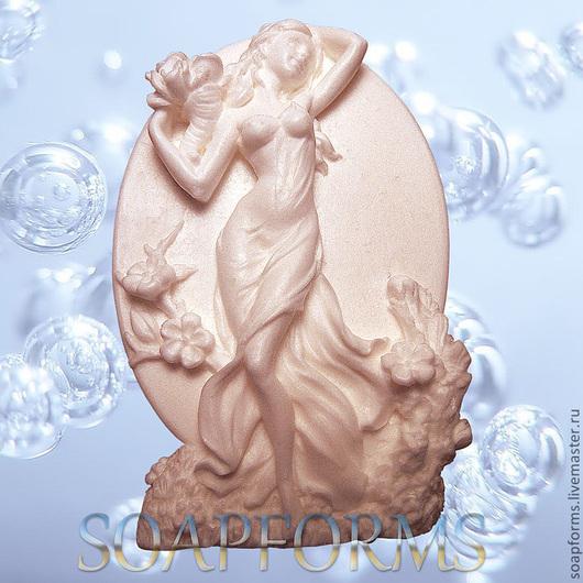 """Силиконовая форма для мыла """"Богиня"""""""