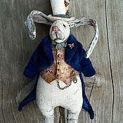 Куклы и игрушки ручной работы. Ярмарка Мастеров - ручная работа Чердачный кролик Сэр Дерек Дрэгонфлай. Handmade.