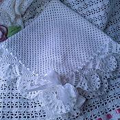 Для дома и интерьера ручной работы. Ярмарка Мастеров - ручная работа Одеяло на выписку для новорожденного. Handmade.