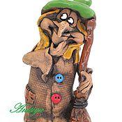 Для дома и интерьера ручной работы. Ярмарка Мастеров - ручная работа Фигурка Бабы Яги статуэтки Баба Яга. Handmade.