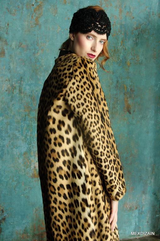 Леопард.Истинный.Шуба. MEXDIZAIN