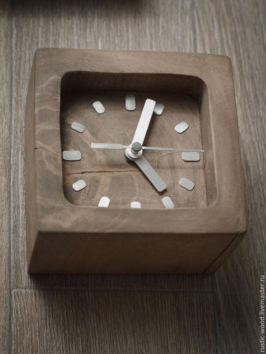 Часы для дома ручной работы. Ярмарка Мастеров - ручная работа. Купить Часы настенные из массива яблони. Handmade. Часы