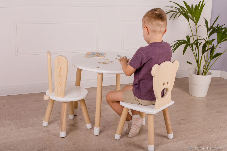 Children's chair Bunny, Furniture for a nursery, Kirov,  Фото №1