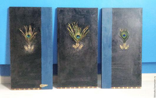 """Абстракция ручной работы. Ярмарка Мастеров - ручная работа. Купить Картина-инсталляция """"Шикардо"""". Handmade. Черный, картина в гостиную, дерево"""