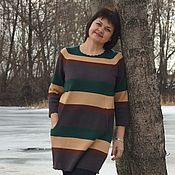 Одежда handmade. Livemaster - original item tunic: Tunic with pockets. Handmade.