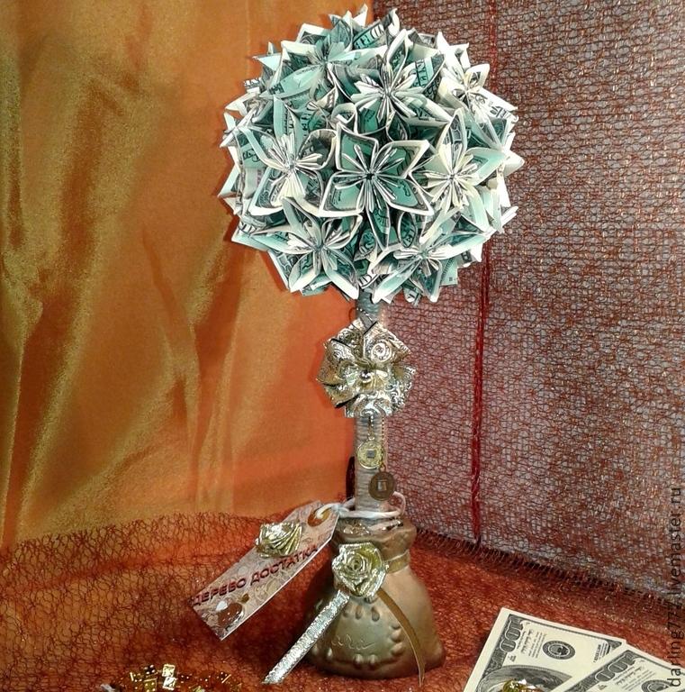 Талисман из денег своими руками 97