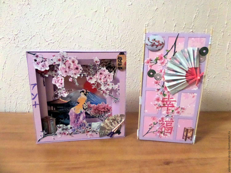 Японские открытки скрапбукинг