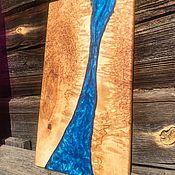 Утварь ручной работы. Ярмарка Мастеров - ручная работа Сервировочные доски из карельской берёзы. Handmade.