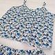 Белье ручной работы. Пижама. мастерская Moloko. Интернет-магазин Ярмарка Мастеров. Пижама, разноцветный, вискоза