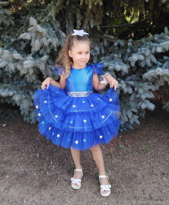 Платья Карнавальный Костюм Для Девочки -2325