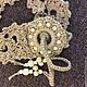 Пояса, ремни ручной работы. Пояс вязаный декоративный бохо из джута.ажурный. Оксана Медведева. Интернет-магазин Ярмарка Мастеров.
