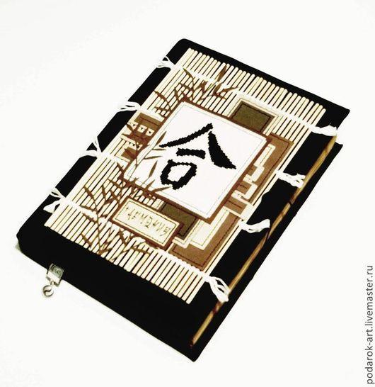 Блокноты ручной работы. Ярмарка Мастеров - ручная работа. Купить Блокнот Японская мудрость. Handmade. Черный, блокнот в мягкой обложке