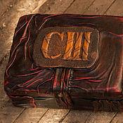 Для дома и интерьера ручной работы. Ярмарка Мастеров - ручная работа Шкатулка с инициалами. Handmade.