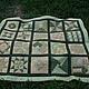 """Текстиль, ковры ручной работы. Заказать """"Весенний пикник"""". Плед, покрывало.. Галанкина Елена. Ярмарка Мастеров. Покрывало пэчворк, покрывало"""