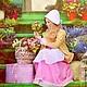 Карнавальные костюмы ручной работы. Ярмарка Мастеров - ручная работа. Купить костюм цветочницы. Handmade. Бежевый, розовый, костюм для девочки