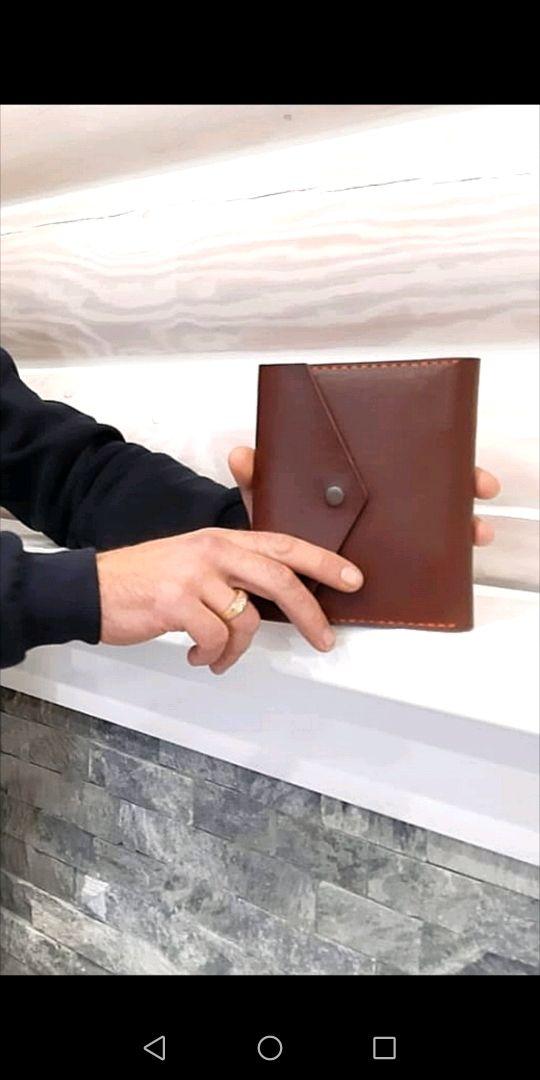 Блокнот кожаный на кольцах формата А6, Блокноты, Подольск,  Фото №1