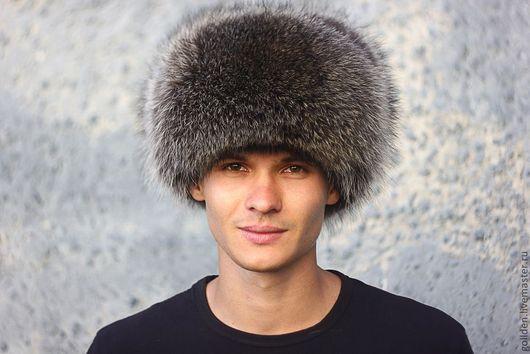 Шапки ручной работы. Ярмарка Мастеров - ручная работа. Купить Мужская шапка-ушанка 4 в 1 из меха енота. Handmade.