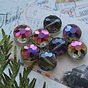 Материалы для творчества handmade. Livemaster - original item Black fuchsia flower bead 14mm. Handmade.