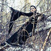 """Одежда ручной работы. Ярмарка Мастеров - ручная работа Пальто """"Black bird"""". Handmade."""