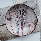 """Посуда ручной работы. Ярмарка Мастеров - ручная работа Тарелка салатник """"Ветер"""". Handmade."""