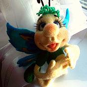 Куклы и игрушки ручной работы. Ярмарка Мастеров - ручная работа Мотылёк-Признание в любви. Handmade.