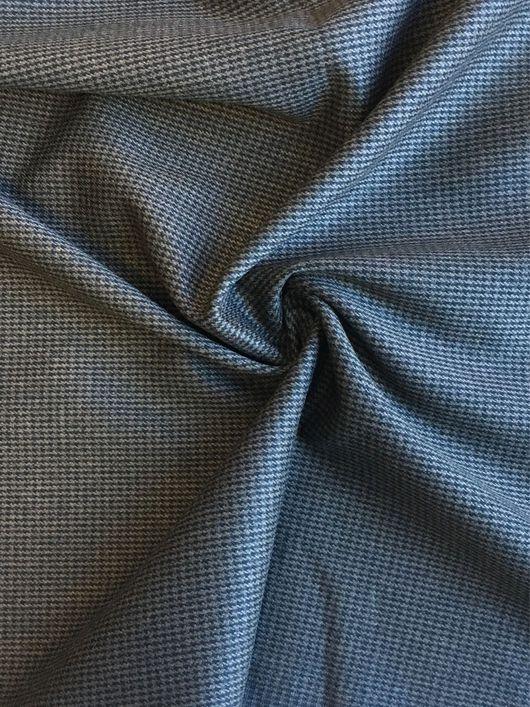 Шитье ручной работы. Ярмарка Мастеров - ручная работа. Купить 42101 Строгая итальянская костюмно-плательная ткань. Handmade.