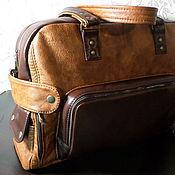 Сумки и аксессуары handmade. Livemaster - original item Bag leather men`s travel Brutal). Handmade.