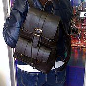Сумки и аксессуары handmade. Livemaster - original item Backpack leather 18. Handmade.